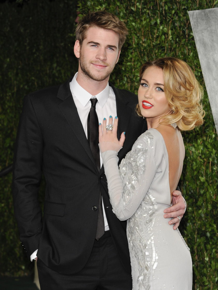Liam Hemsworth i Miley Cyrus