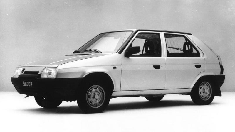 Skoda Favorit wersja z 1987 roku