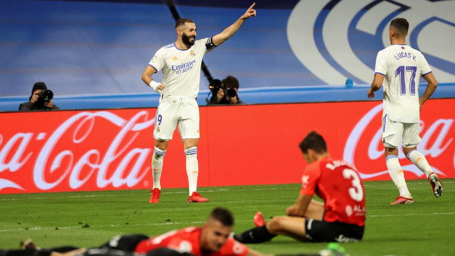 Radość piłkarzy Realu Madryt