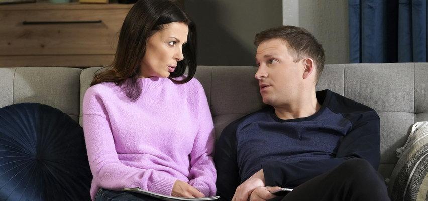 """""""Barwy szczęścia"""" odcinek 2468. Kasia chce przeprowadzić sięz rodzinąna Sycylię. Tymczasem Łukasz dostanie ciekawą propozycję..."""
