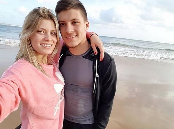 Luka Jović i Anđela Manitašević