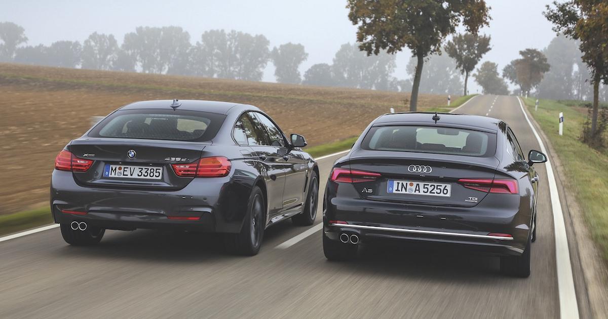 Audi A5 Sportback kontra BMW serii 4 Gran Coupé ...