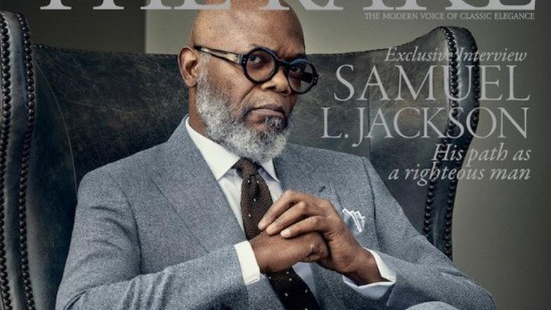 Samuel L. Jackson was the perfect gentleman for The Rake Magazine cover