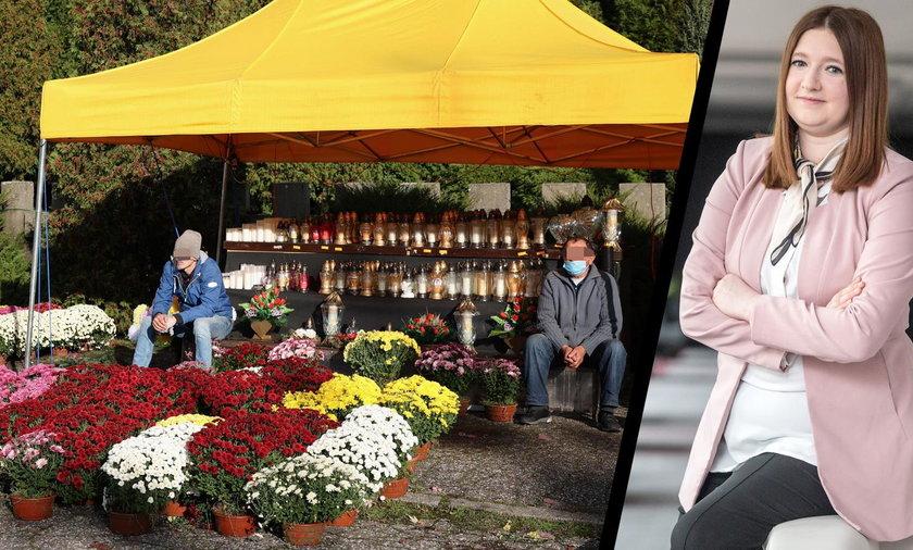 180 mln zł dla kwiaciarzy za zamknięte cmentarze. Wiceminister rolnictwa mówi, jak to będzie wyglądać w praktyce