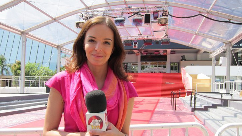 Anna Wendzikowska w sukience Blessus na festiwalu filmowym w Cannes 2011