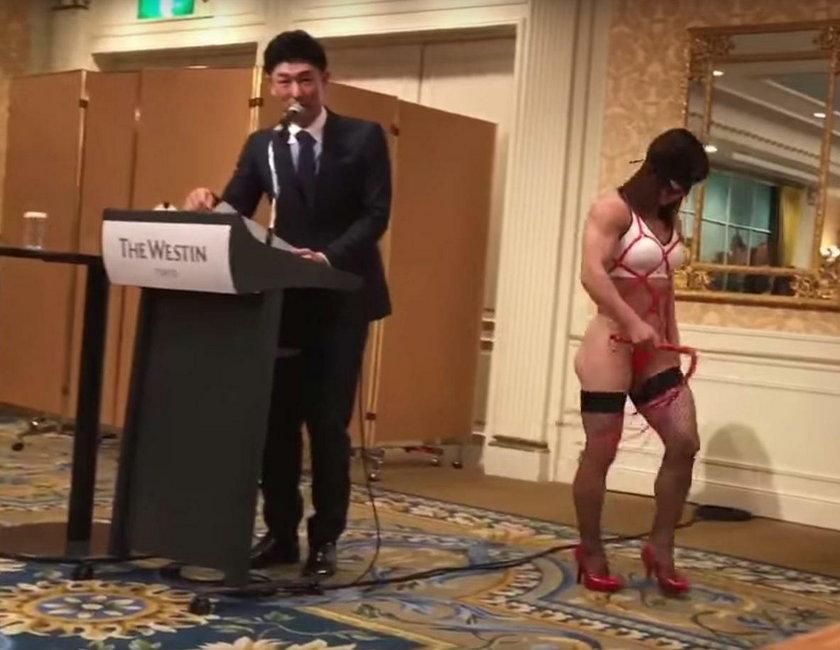 Japońska zawodniczka MMA znowu szokuje. Co za strój!