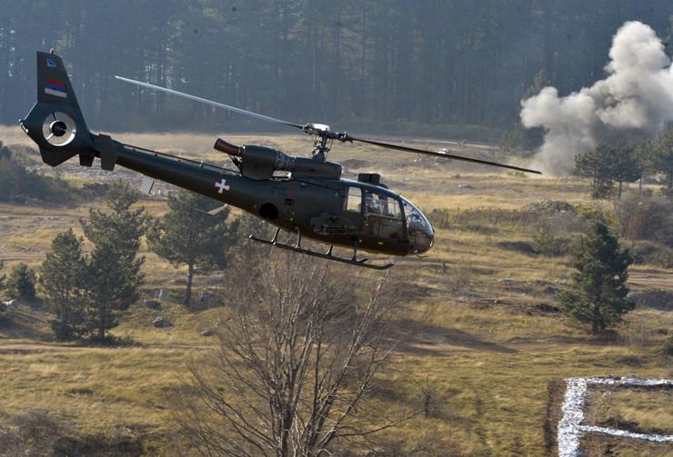 "Helikopter ""gazela"" Vojske Srbije"
