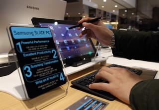 Samsung Slate PC – mobilność w biznesie