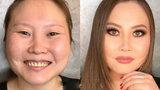 Mistrzyni makijażu! Nie uwierzysz, co potrafi