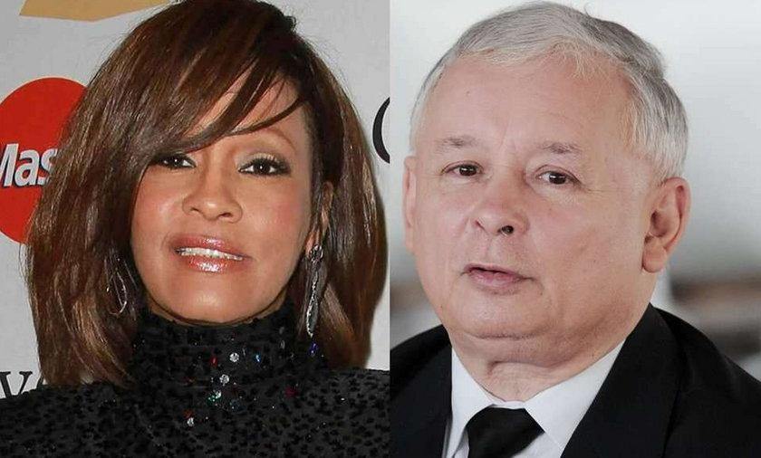 Whitney Houston brała te same leki, co Kaczyński!
