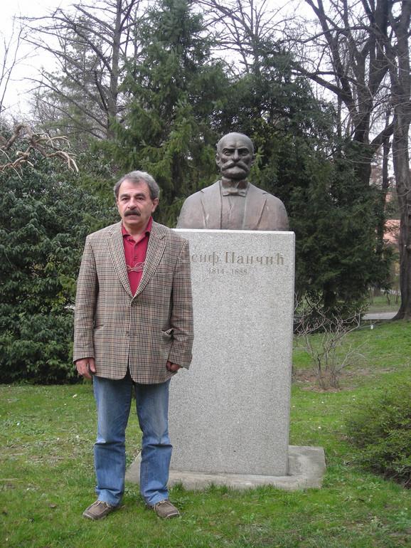 Vladimir Stevanović, profesor na Biološkom fakultetu u Beogradu