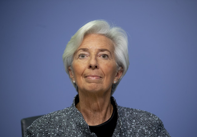Kristin Lagard predsednik ECB