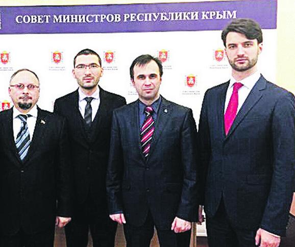 Saradnja: Miroslav Parović, Vikktor Kolbanovski i Vladimir Zotov