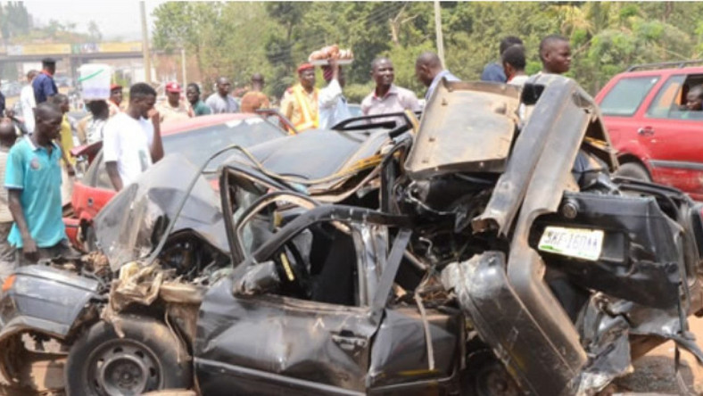 4 deaths, 14 auto crashes recorded within 7 days in Ogun/Illustration [primepost]