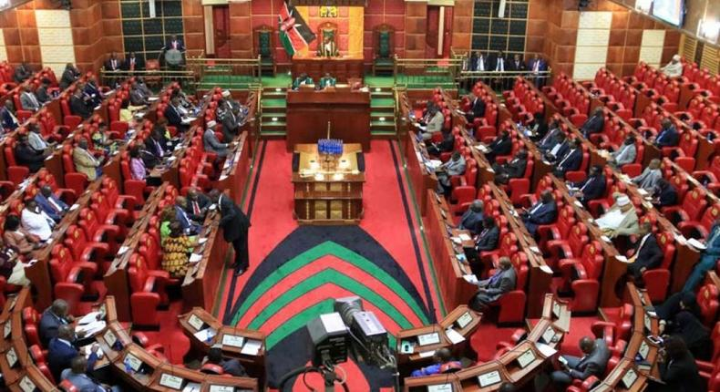 Kenya Parliament at a past session