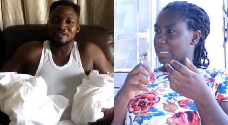 Ghanaians tell Funny Face to compensate wife with a car after disgracing her