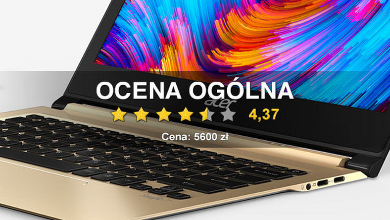 Test notebooka Acer Swift 7