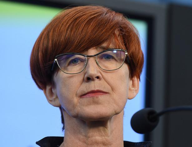 Minister rodziny, pracy i polityki społecznej Elżbieta Rafalska, PAP/Radek Pietruszka