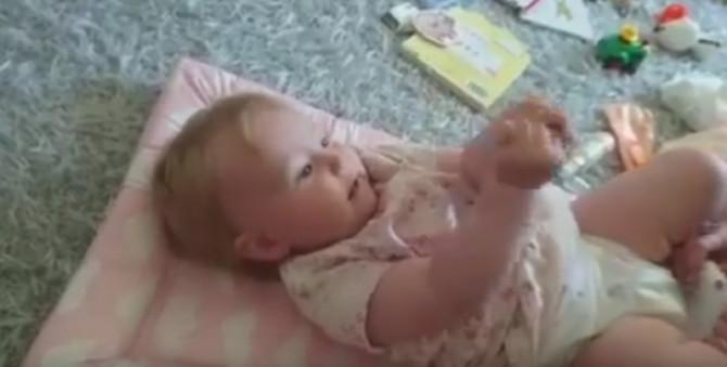 Beba je svima priredila sjajno iznenađenje