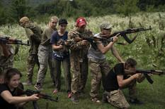 Dečiji kamp, Ukrajina, vojni kamp