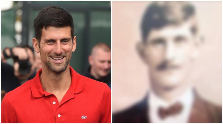 Novak Đoković i čukundeda 222