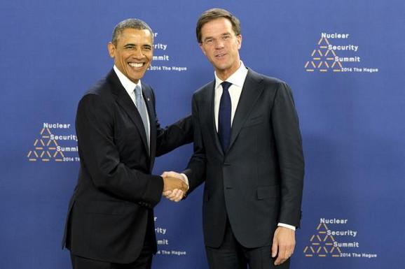 Barak Obama i Mark Rute