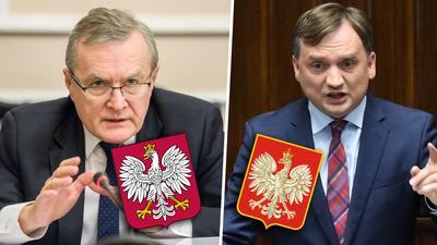Ziobro chce orła z krzyżem w koronie w nowym godle Polski. Starł się o to z Glińskim