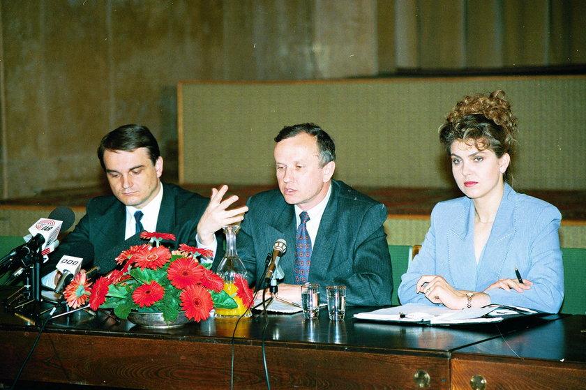 Waldemar Pawlak, Grzegorz Kołodko, Ewa Wachowicz