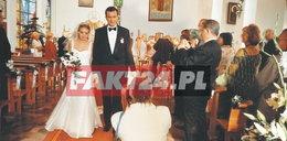 Tak wyglądał ślub Tomasza Kota