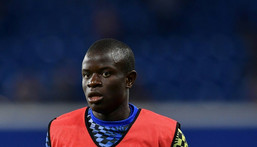 Chelsea midfielder N'Golo Kante will miss the Champions League match against Juventus after testing positive for coronavirus Creator: Ben STANSALL