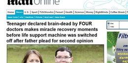 Ożył, choć 4 lekarzy stwierdziło zgon. Już zabierali mu organy, gdy...