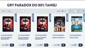 Black Friday w cdp.pl. Na pierwszy ogień gry Paradoksu