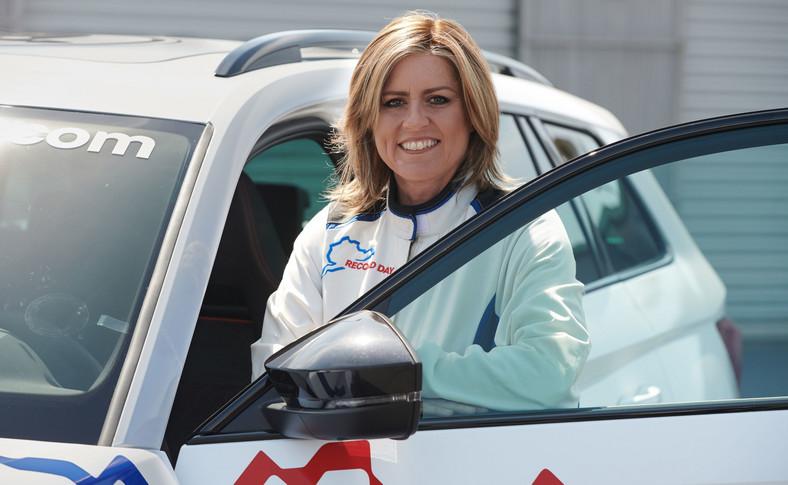 Sabine Schmitz i nowa Skoda Kodiaq RS