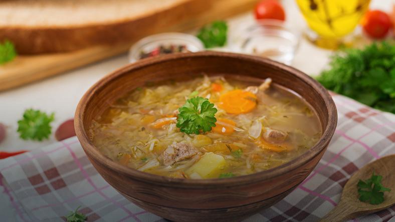 Aromatyczna Zupa Z Mlodej Kapusty