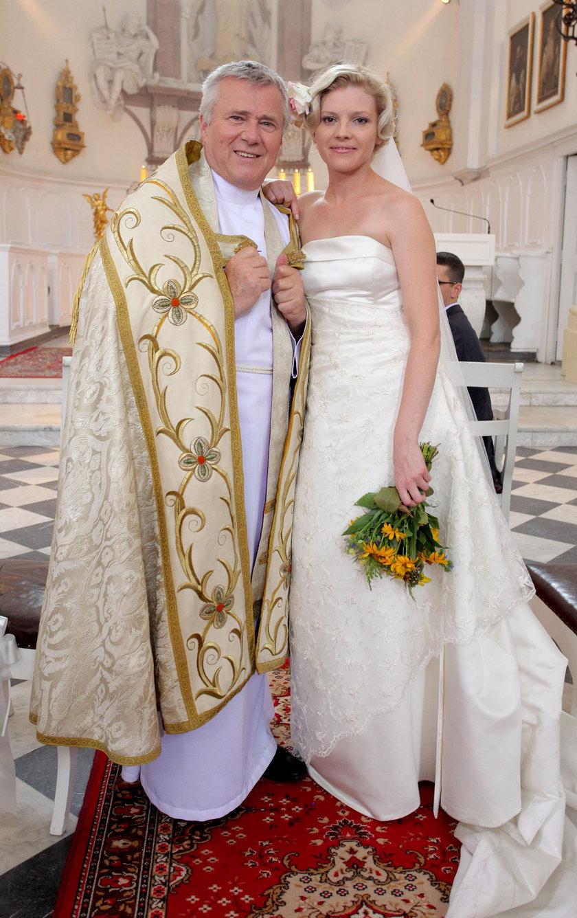 Włodzimierz Matuszak i Karolina Nolbrzak