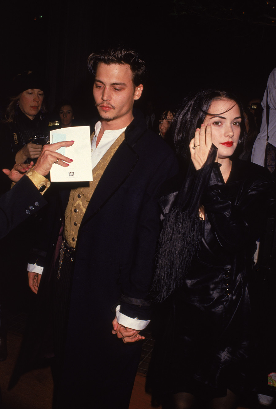 Winona Ryder i Johnny Depp, 1992 / Darlene Hammond / GettyImages
