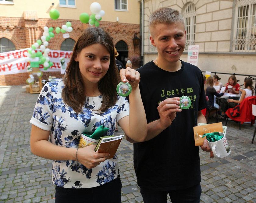 Marta Nowak (20 l.) i Łukasz Rutkowski (19 l.):