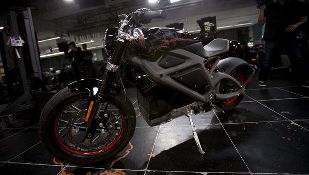 Motocykl elektryczny Harley-Davidson LiveWire