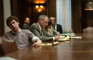 "Jesse Eisenberg w filmie ""The Social Network"""