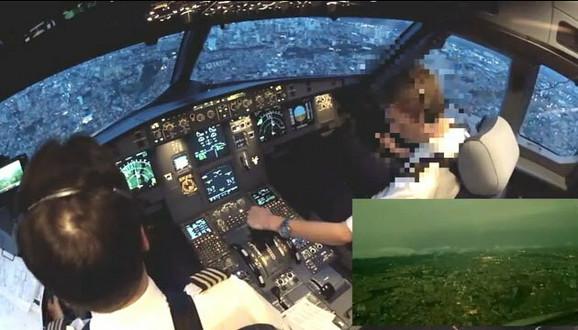 Priprema aviona za sletanje