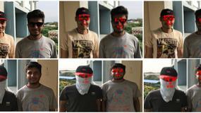 Szutczna inteligencja rozpozna nawet zasłonięte twarze