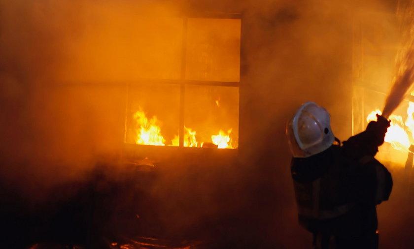 Pożar w szpitalu w Warszawie. Zginął pacjent