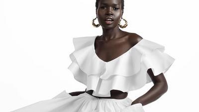 COVID-19:la marque congolaise Hanifa a présenté sa nouvelle collection en 3D lors d'un live Instagram.