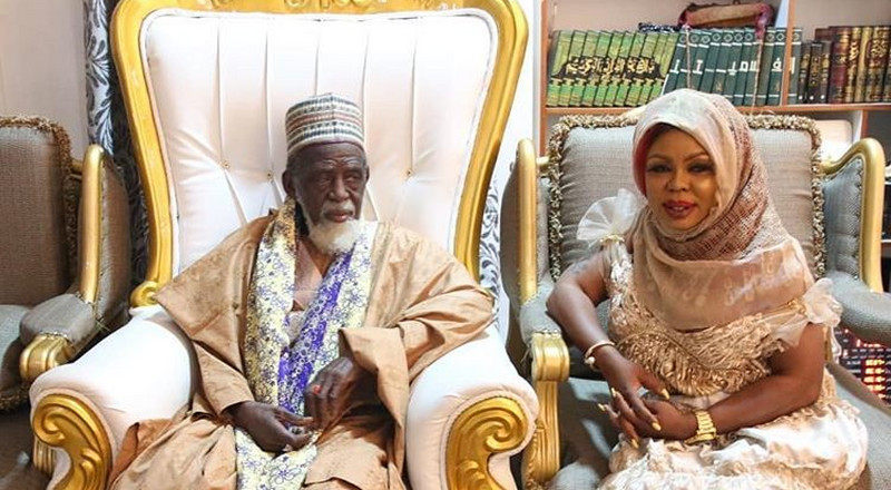 Chief Imam gives Afia Schwarzenegger new Islamic name; here's it (PHOTO)