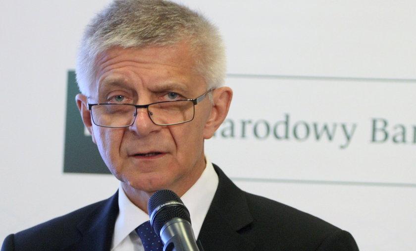 Prezes NBP zrugał bankowców za kredyty walutowe