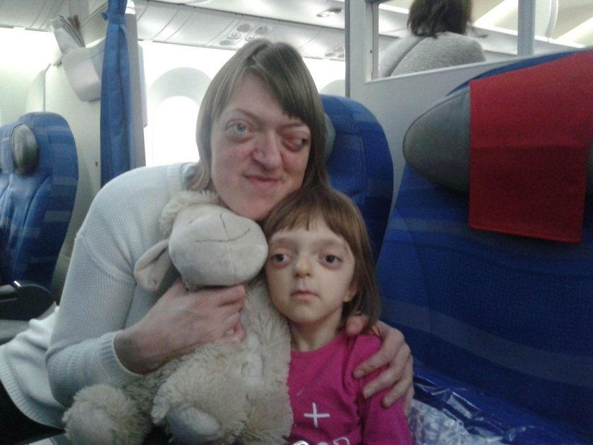 Pani Ewa Mazurek i jej córeczka Lenka