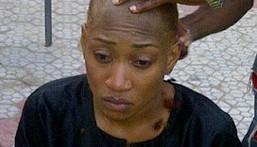 Shaving the hair of an Igbo widow