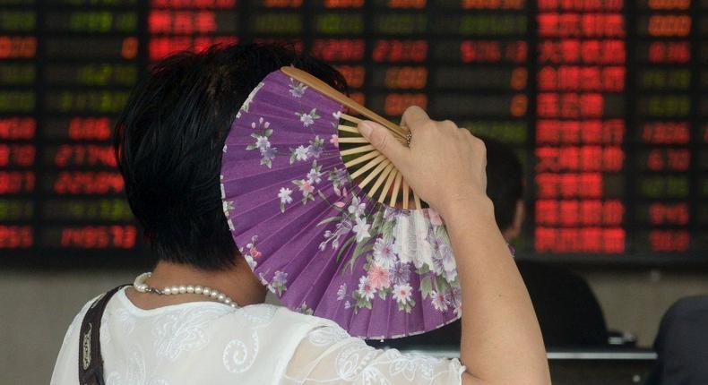 China stocks close down, small-cap rally fizzles