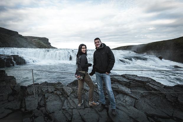 Wodospad Gullfoss