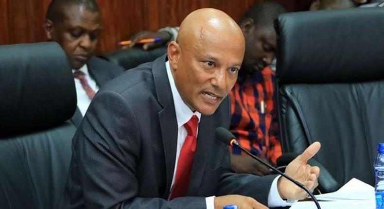 New Ethics and Anti-Corruption Commission (EACC) Chief Executive Officer Twalib Mbarak